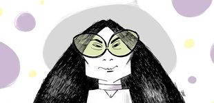 Post de Yoko Ono, la artista viuda de Lennon que grita en los museos, cumple 85