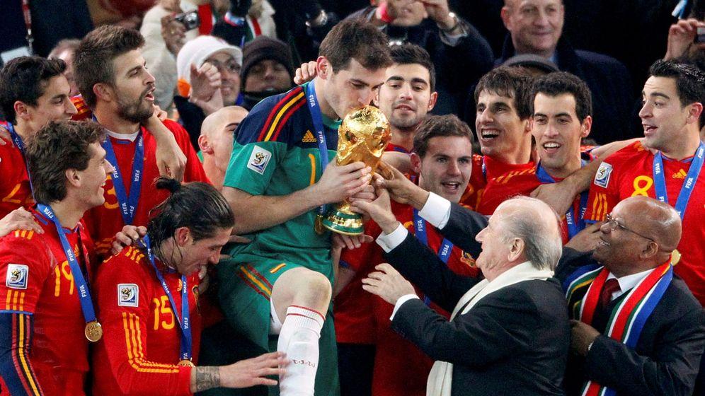Foto: Nueve años del Mundial de Sudáfrica: ¿qué ha sido de nuestros campeones? (Reuters)