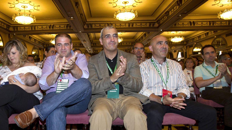 Foto: Antonio Jesús Ruiz, nuevo secretario general del PA. (Efe)