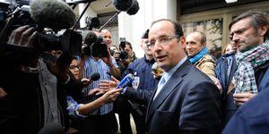 Hollande declara a petición propia en el caso contra Strauss-Kanh