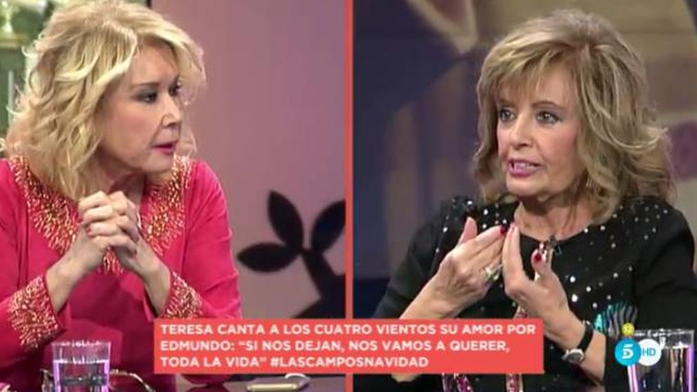Encontronazo entre María Teresa Campos y Mila Ximénez