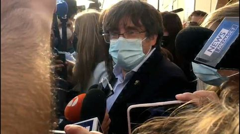 Así ha abandonado Puigdemont la prisión tras quedar en libertad