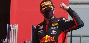 Post de Max Verstappen no quiso pilotar
