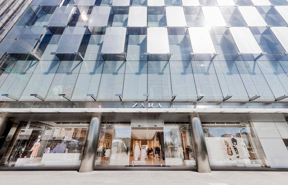 Foto: Zara Castellana, emblema del grupo y principal tienda en Madrid.