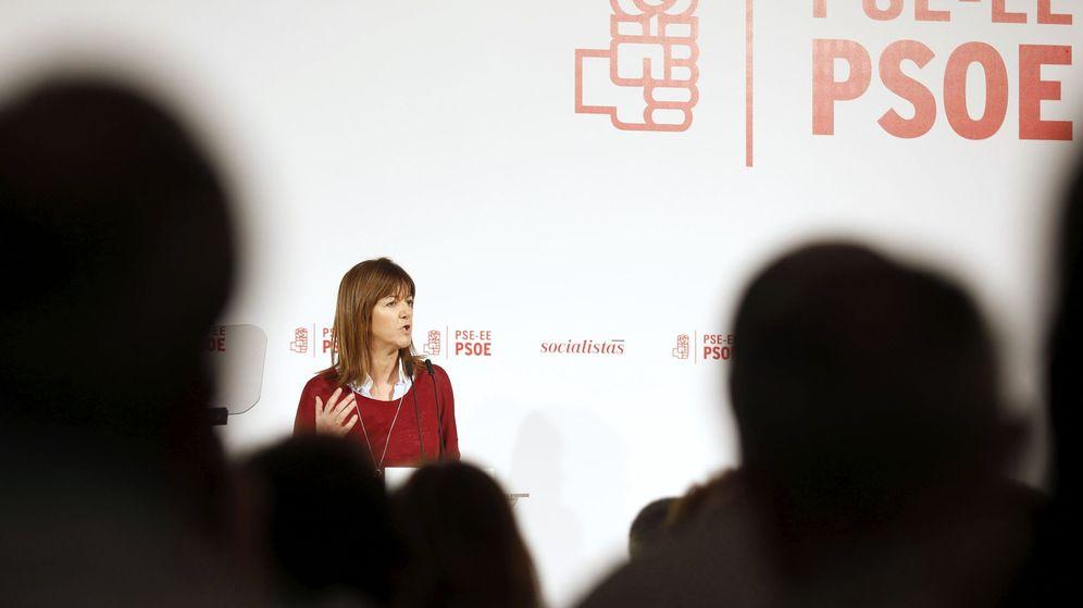 Foto: La secretaria general del PSE-EE, Idoia Mendia. (EFE)