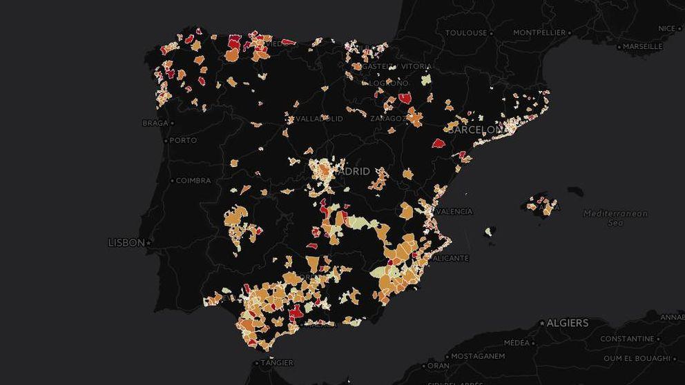 Busque el índice de mortalidad por cáncer de pulmón en su municipio