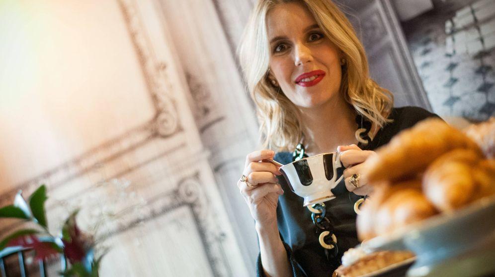 Foto: Cristina Oria posa para Vanitatis en su restaurante en Madrid. (Carmen Castellón)