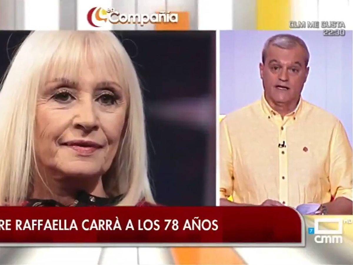 Foto: Ramón García, en 'En compañía'. (Mediaset)