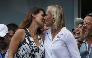 Navratilova pide matrimonio a su novia en el US Open