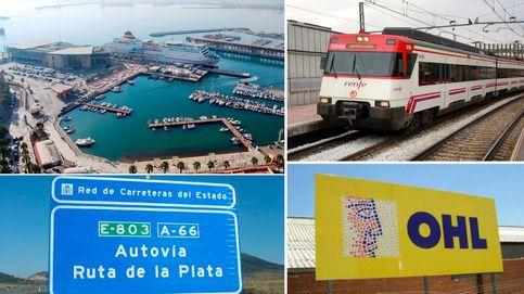 Puertos, autovías, trenes... OHL amañó obras públicas valoradas en más de 700 millones