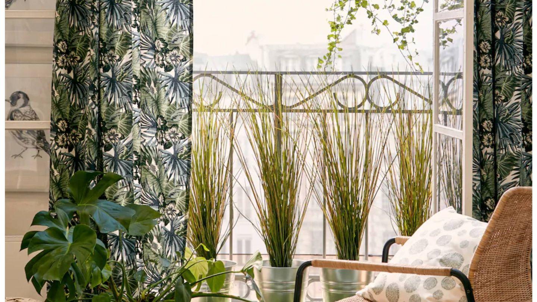 Ikea nos inspira para redecorar nuestro balcón. (Cortesía)