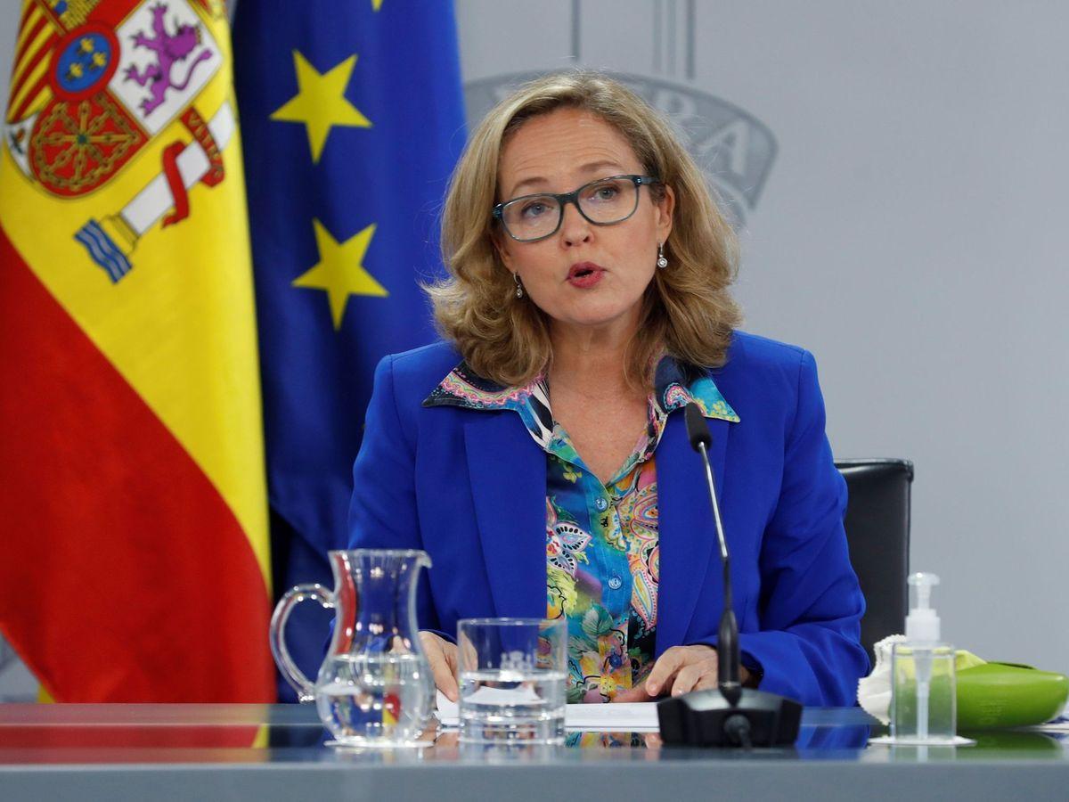 Foto: La ministra de Economía, Nadia Calviño (EFE)