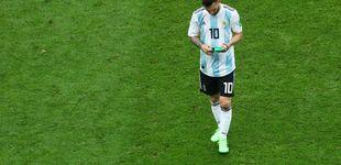 Post de El día que Mbappé hizo en el campo lo que Leo Messi ni intentó