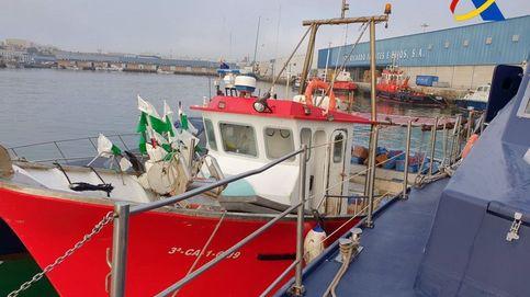 Siete detenidos en Algeciras por llevar 1.200 kilos de hachís en un pesquero