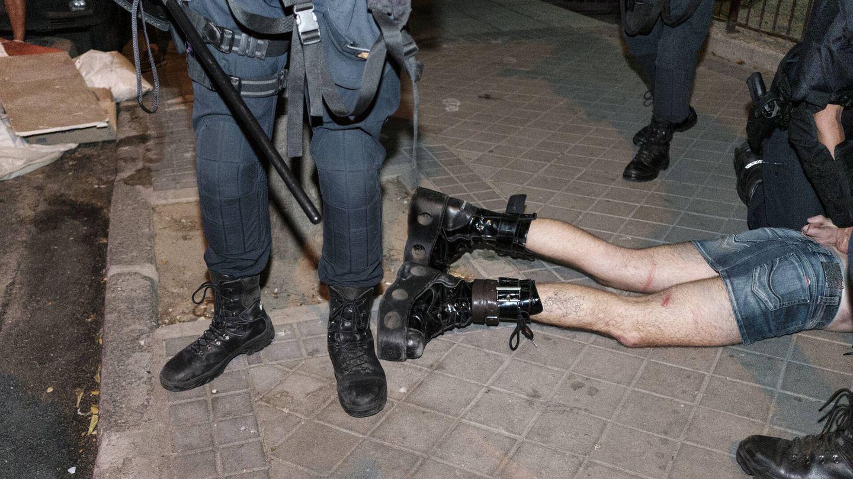 Detención en Madrid por la muerte de Samuel. (S. B.)