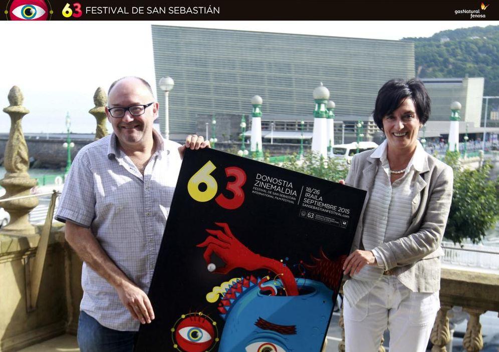 Foto: José Luis Rebordinos, director del Festival de San Sebastián (EFE)