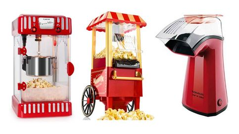 Las máquinas de palomitas para disfrutar del cine en casa