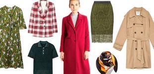 Post de Un abrigo rojo, una falda midi... y otros cinco esenciales que necesitas tener ya