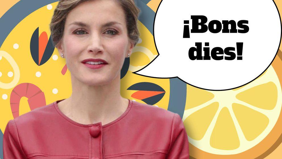 Letizia se atreve con el valenciano: el don de lenguas de la Reina