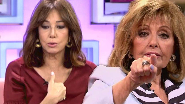 ¿Se reabre la guerra entre Ana Rosa y María Teresa? Cuanto más se mueve, más huele