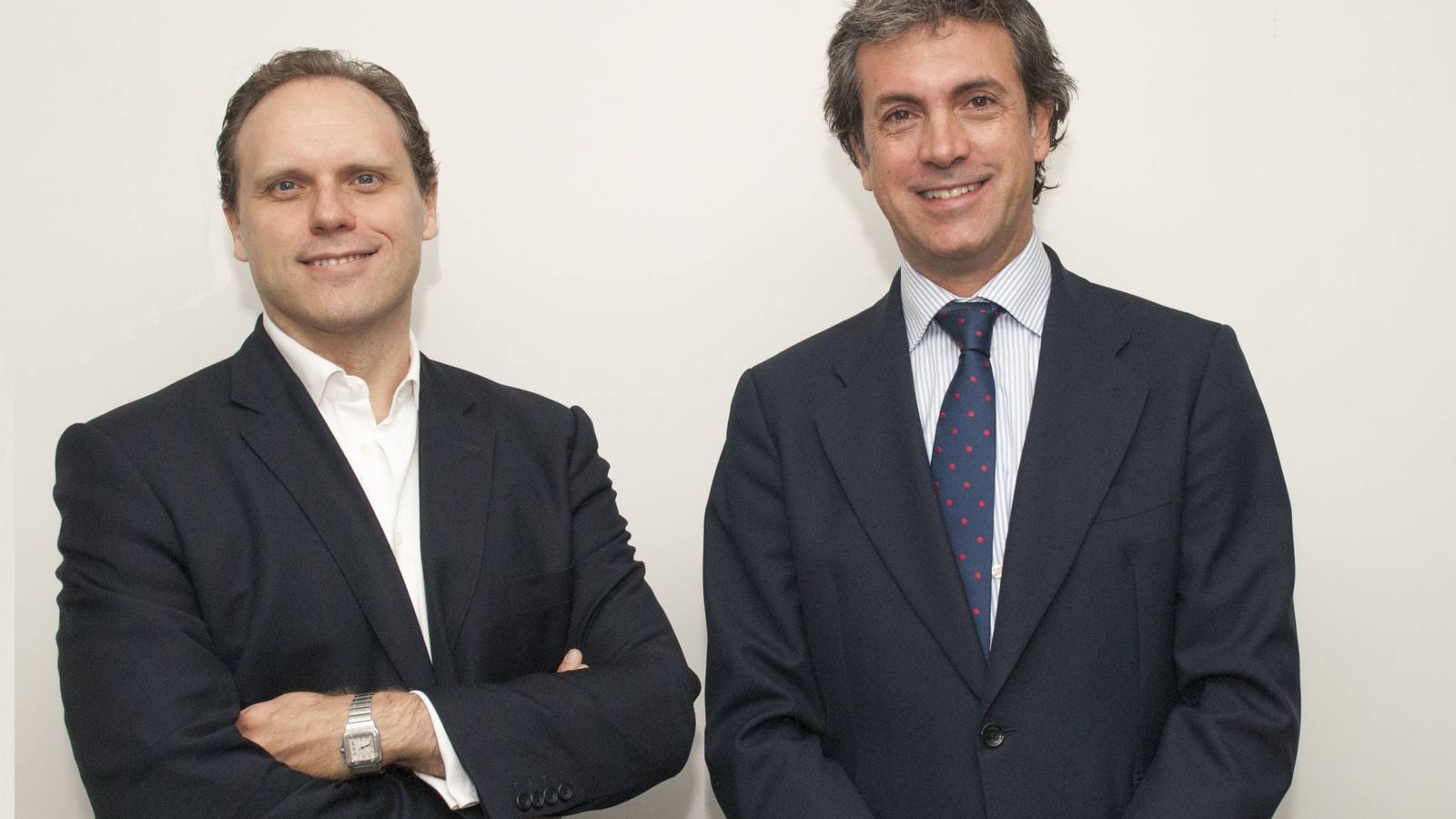 Foto: Daniel Lacalle y Jacobo Blanquer, gestores de Adriza Global (Foto: Tressis)