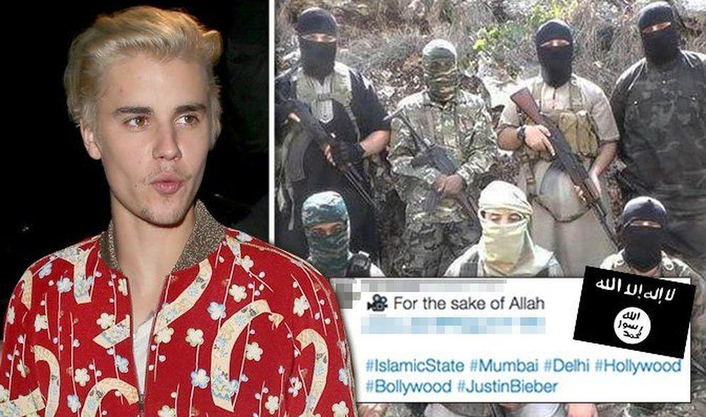 Foto: Una de las imágenes difundidas por el ISIS tras el hackeo