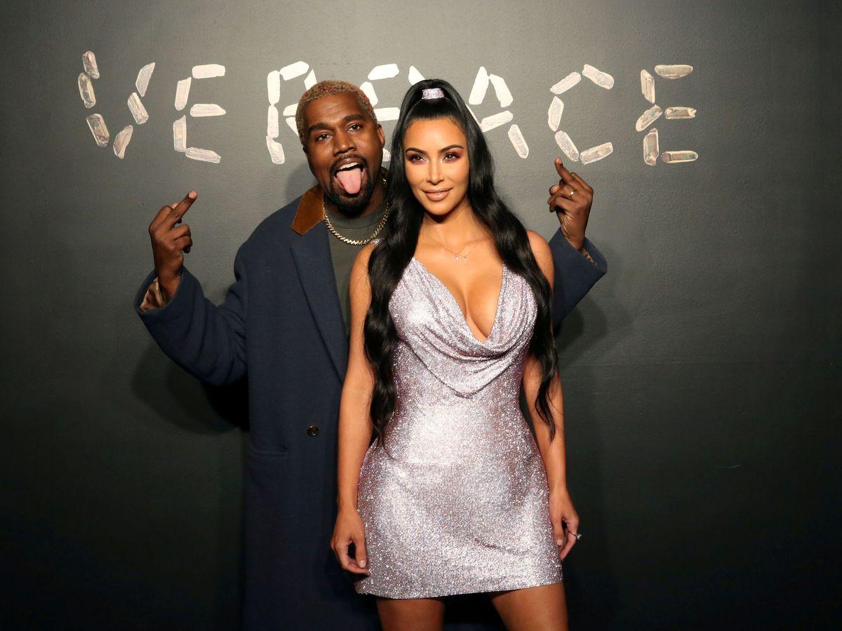 Foto: Kanye West y Kim Kardashian. (Reuters)