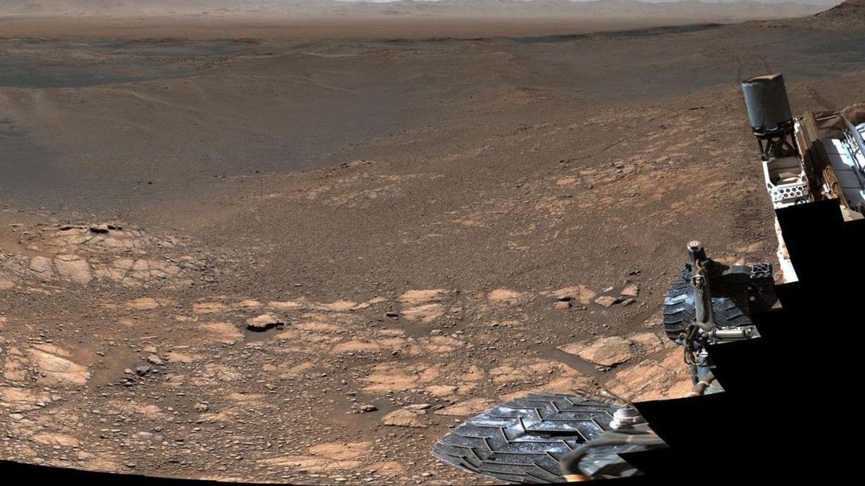 El Curiosity de la NASA ha tomado su imagen del paisaje marciano con mayor resolución hasta ahora, 1800 millones de píxeles. (EFE)