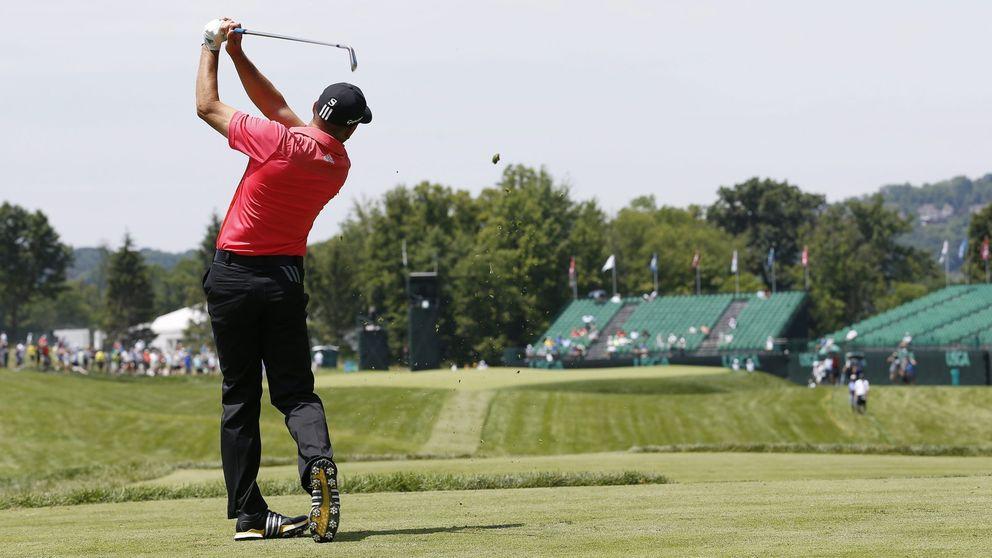 La intrahistoria de una vuelta de prácticas en el US Open de golf