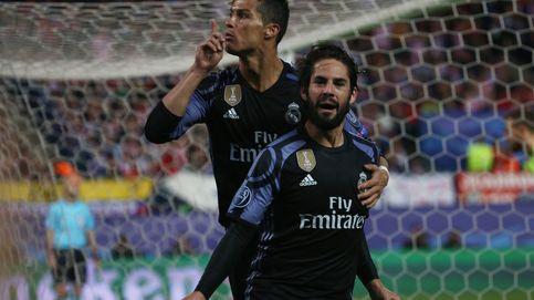 La crónica del Atlético - Real Madrid de Champions en imágenes