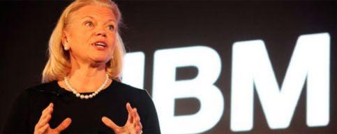 Foto: Virginia M. Rometty, la primera CEO mujer en la historia de IBM