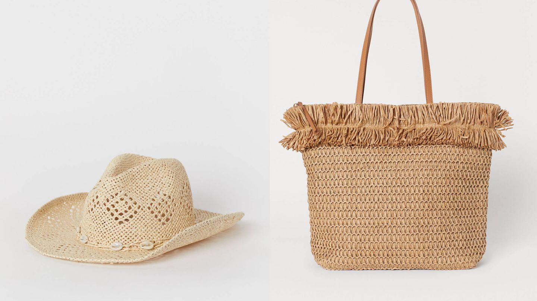 Sombrero (17,99€) y bolso shopper (19,99€).