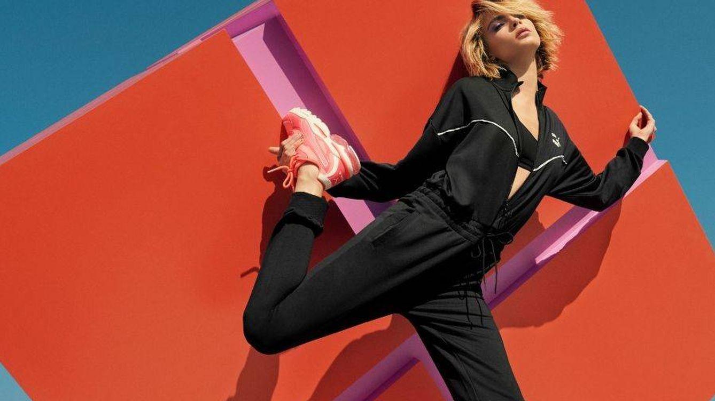 Cara Delevingne presenta las Cell Stellas Neon de Puma, las zapatillas de este otoño