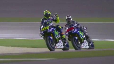 Rossi, líder en cabreos, solo es quinto en la parrilla, dominada por Lorenzo