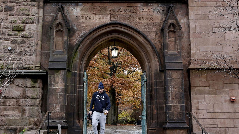 Campus de la Universidad de Yale (Reuters)