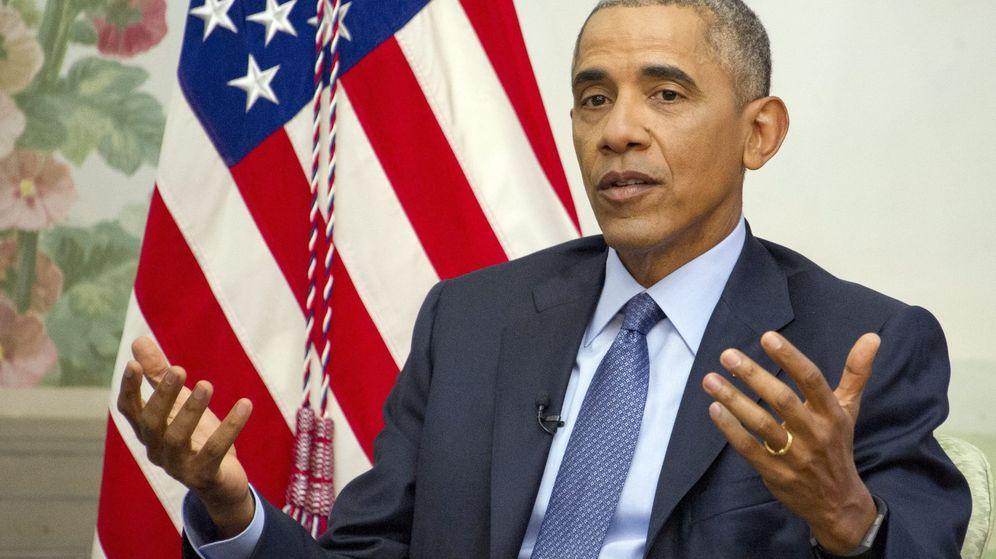 Foto: El presidente de Estados Unidos, Barack Obama, durante una entrevista que concedió a Vox en la Casa Blanca. (EFE)