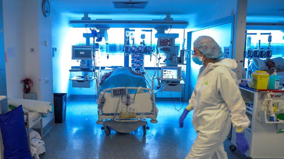 Foto: Una UCI del Hospital Puerta de Hierro, en Madrid. (EFE)