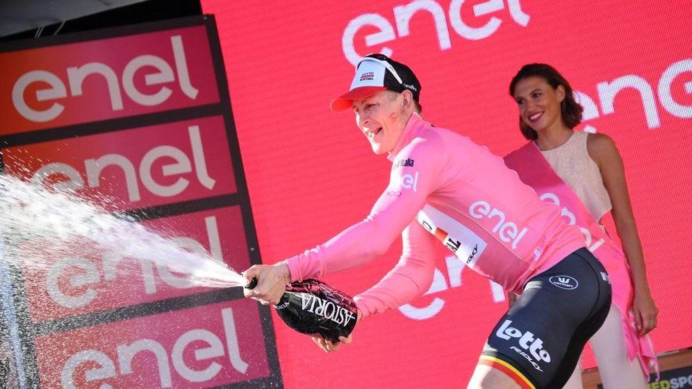 Foto: Greipel se vistió de rosa. (Giroditalia)