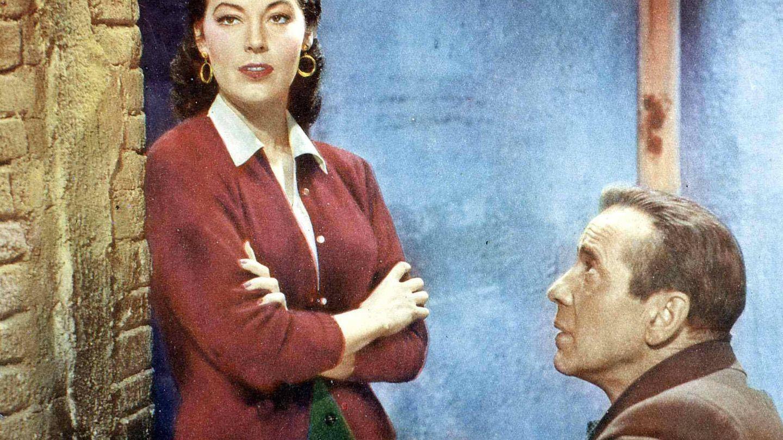 Ava Gardner junto a Bogart en 'La condesa descalza'. (Cordon Press)