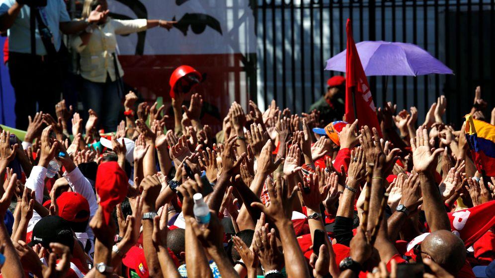 Foto: Venezuela sale a la calle. (EFE)