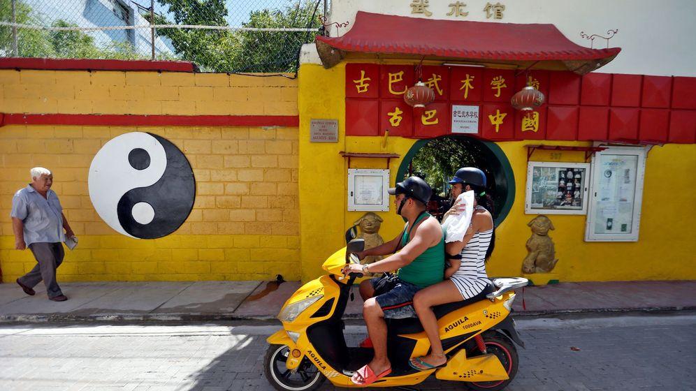 Foto: Instantánea del barrio chino de la Habana. (EFE)