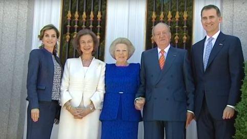 El bonito detalle de Beatriz de Holanda y Don Juan Carlos