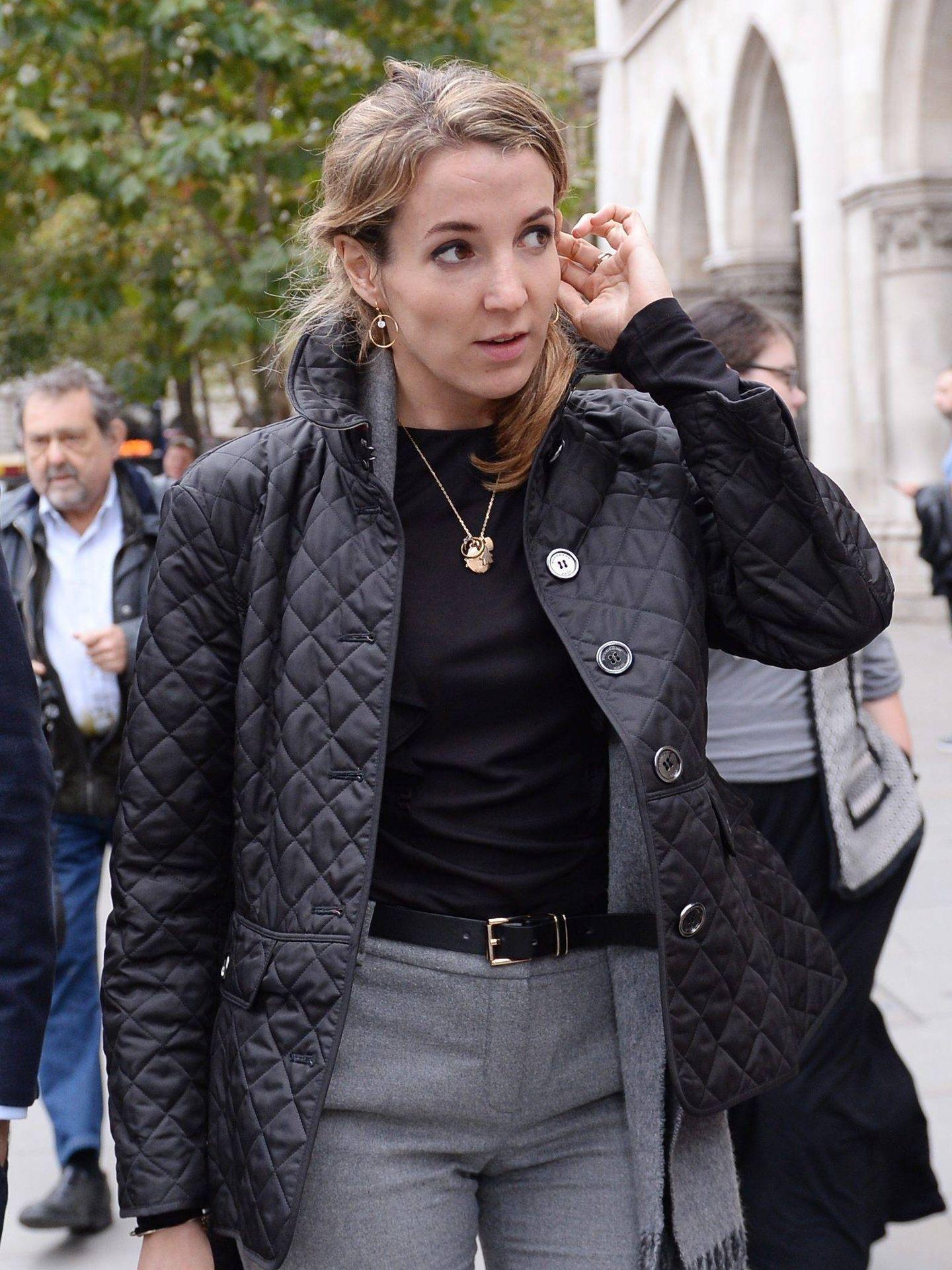 Tessy, en el tribunal de Londres durante el proceso judicial. (Cordon Press)