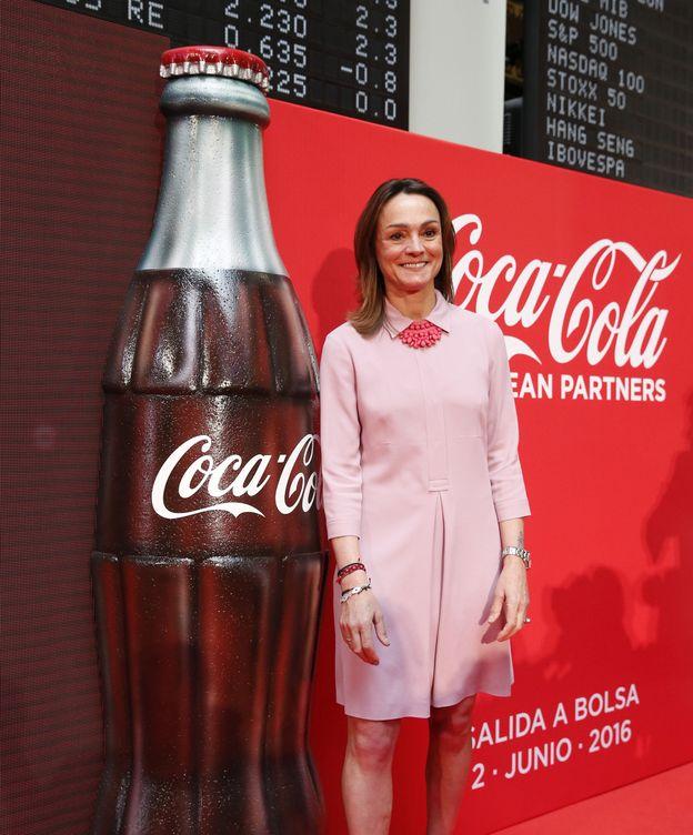 Foto: La presidenta de Coca-Cola Iberian Partners, Sol Daurella. (EFE)