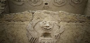 Post de Hallan en Perú un mural tallado hace 3.800 años que podría señalar al cambio climático