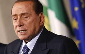 Berlusconi comenzará su condena a trabajos sociales el próximo 9 de mayo