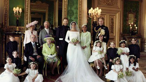 ¿Qué miembro de la familia real falta en la foto deboda de Meghan y Harry?