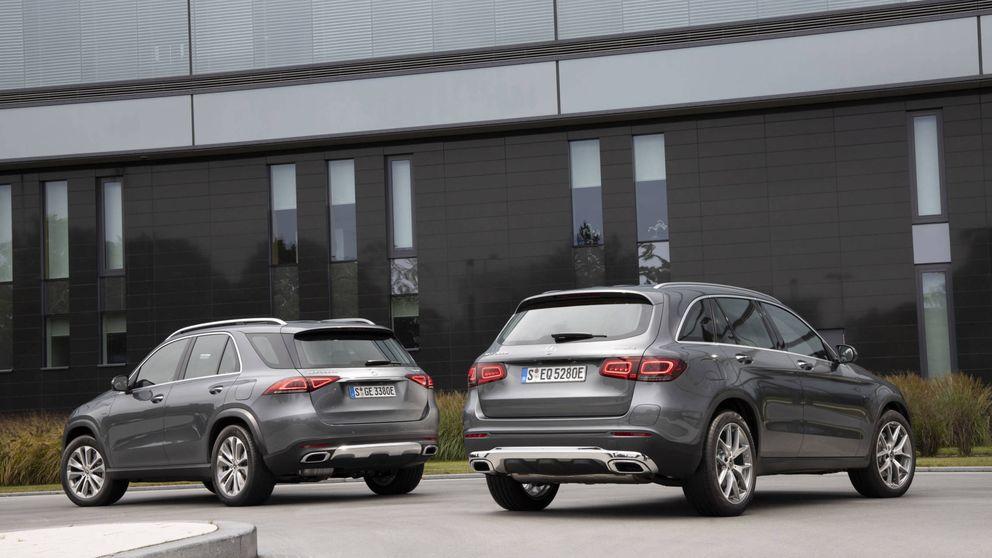 Mercedes GLE 350de, el híbrido que supera los 100 km de autonomía eléctrica