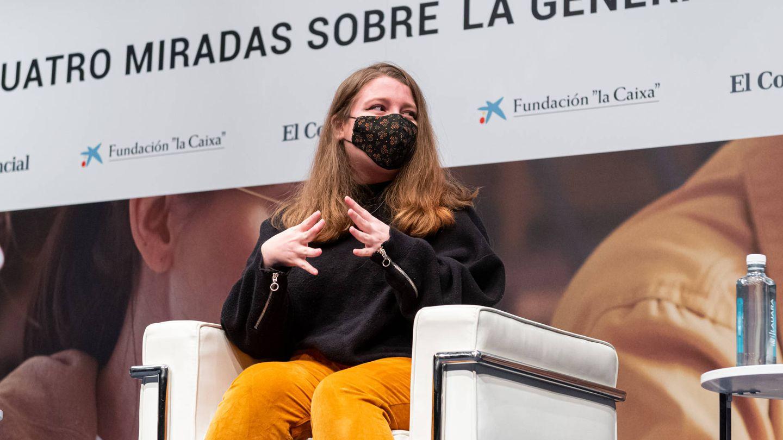 Clara Cortés, graduada en psicología y ganadora del premio literario La Caixa/Plataforma.
