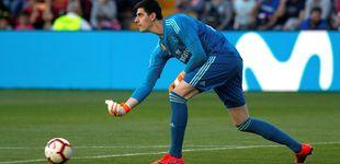 Post de Courtois gana la batalla a Keylor Navas... ¿y Florentino a Zidane?
